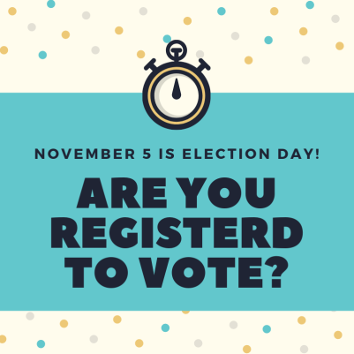 are you registered to vote 2019 general election